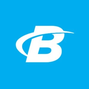 Logo of Bodybuilding, a website where you can buy supplements online