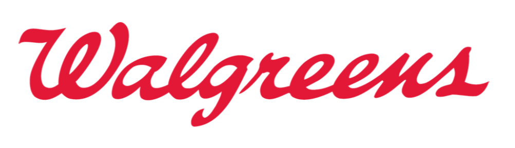 Logo of Walgreens, a website where you can buy supplements online